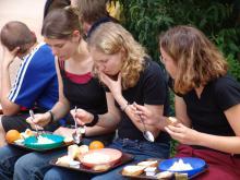 Essen in Taizé